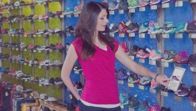 retail shoe