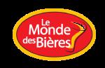 Le logo du monde des bières sans fond